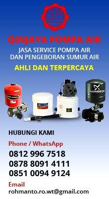 Jasa Service Pompa Air